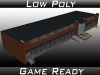 factory building 17 3D model