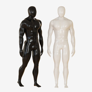3D mannequin man model