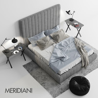 meridiani tuyo bed 3D model