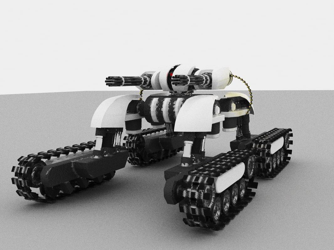 3D drone devastator
