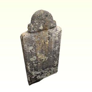 dirty grave 3D model