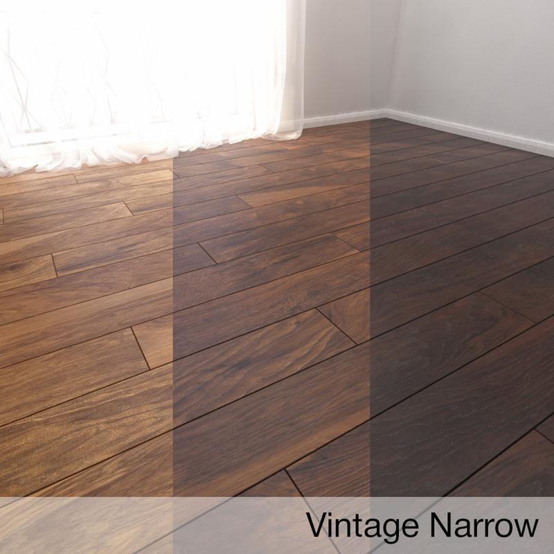 parquet floor model