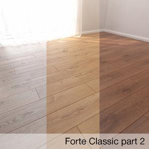 parquet floor 3D