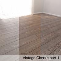parquet floor 3D model