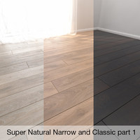 Parquet Floor Super Natural Narrow and Classic part 1