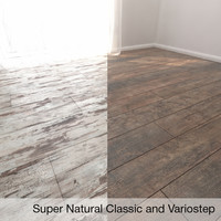 Parquet Floor Super Natural Classic 3 and Variostep