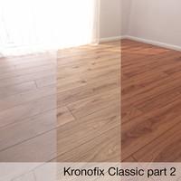 3D parquet floor krono