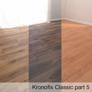 3D model parquet floor krono