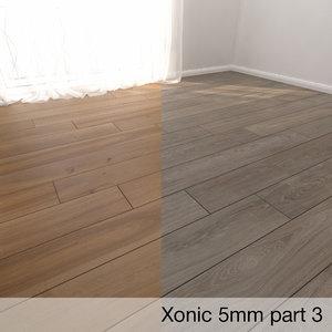 3D parquet floor