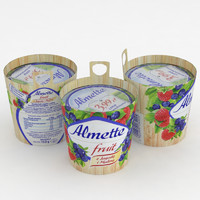 Almette Fruit Strawberry Blueberry 150g