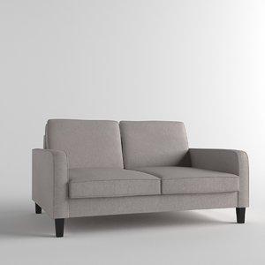 drake nordic sofa 3D model