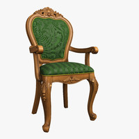 Classical wooden chair