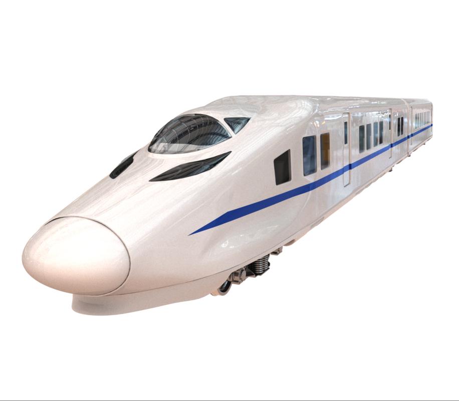 train crh siemens 3D model