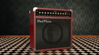 redplate amp 3D model