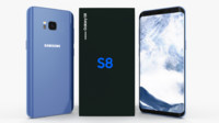 3D model samsung galaxy s8