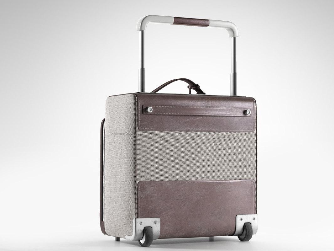 3D model caleche-express cabine suitcase