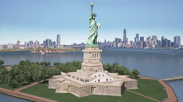 statue liberty model