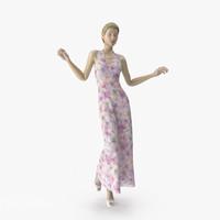 3D showroom mannequin 036 pose