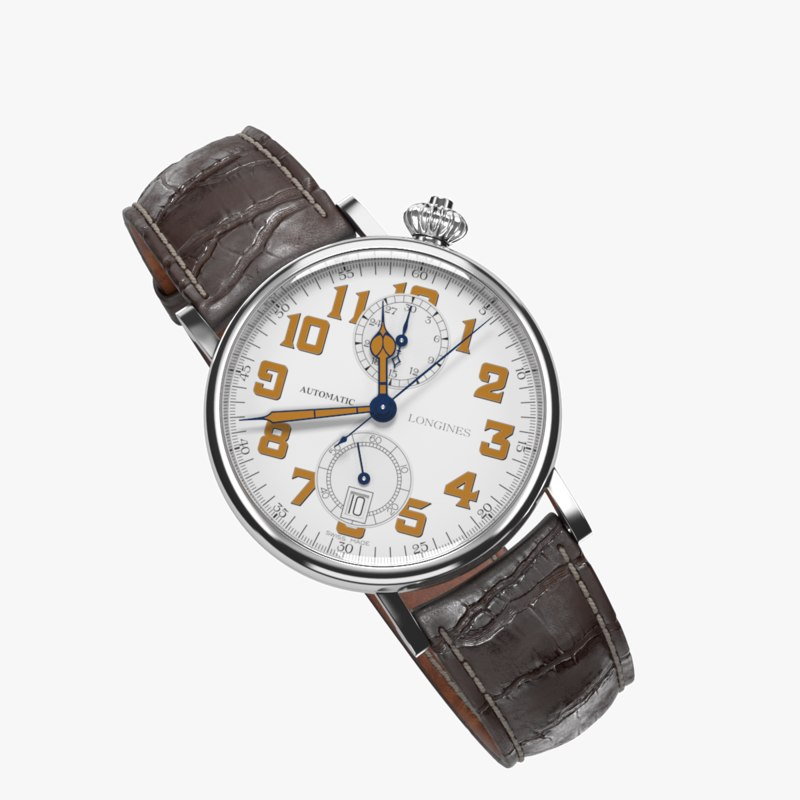 3D longines avigation watch type