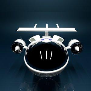 flying robot model