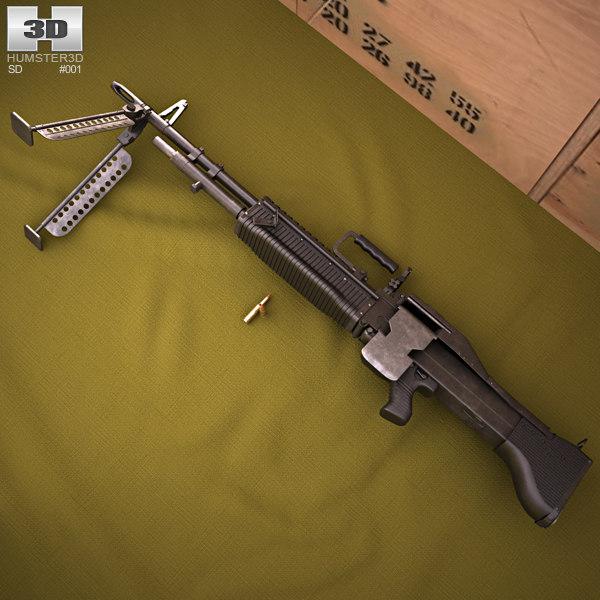 3D saco defense m60 model