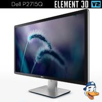 dell p2715q element 3D