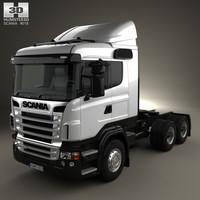 scania r420 r 3D model