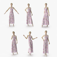 showroom mannequin 036 poses 3D