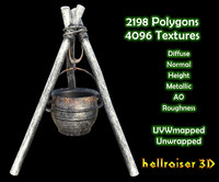 Cooking Pot - Textured