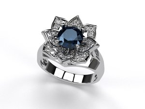 3D engagemoment ring iii model