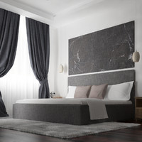 Simple Bedroom_3dmax2014_vray