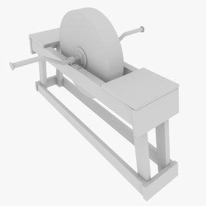 subdivision grindstone 3D model