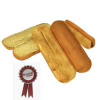 3D bread hot dog