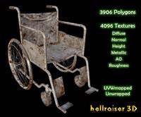 Wheelchair - Old Textured