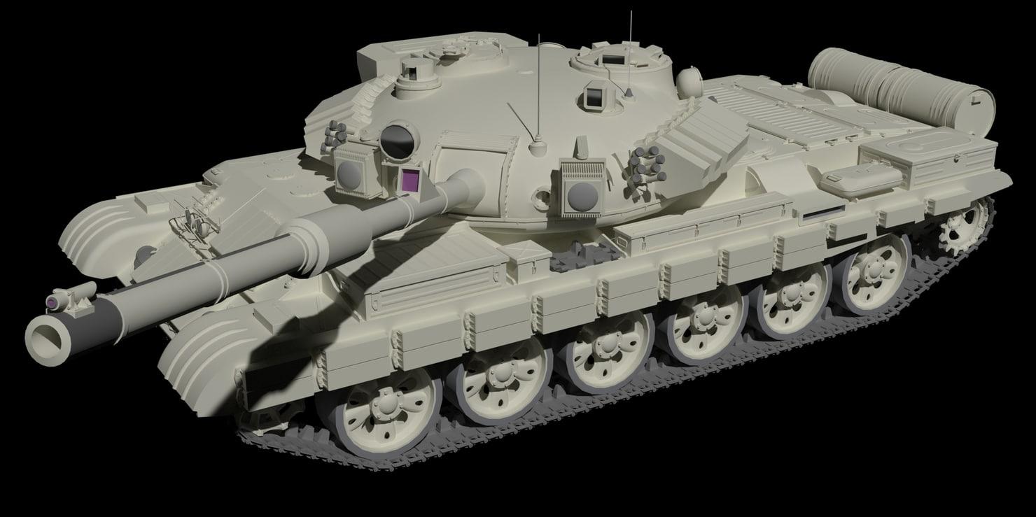 tank - t-62 m125 model