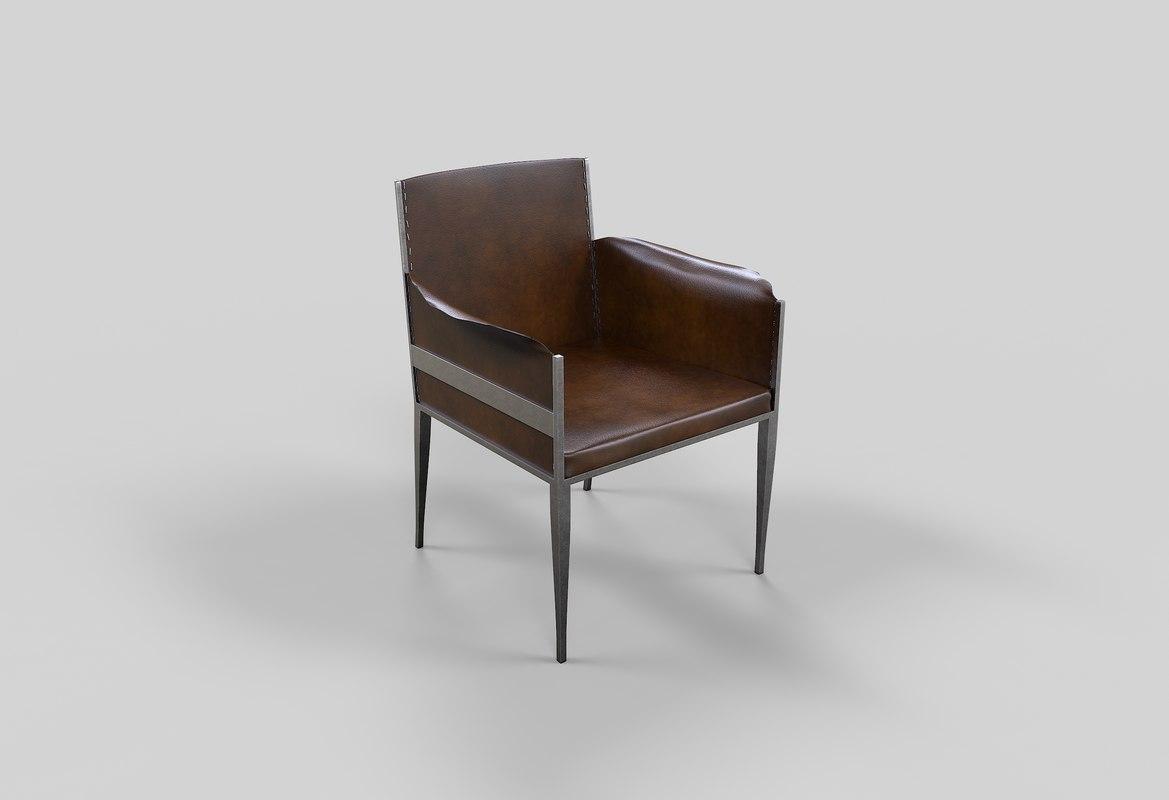 3D chair jean frank
