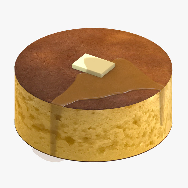 japanese pancake 3D model