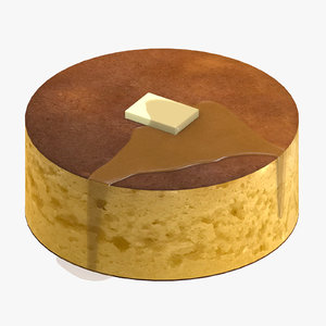 japanese pancake 3D model