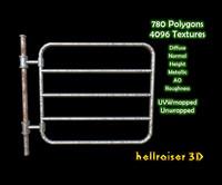 3D barrier gate metallic