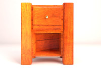Retro Wooden Nightstand