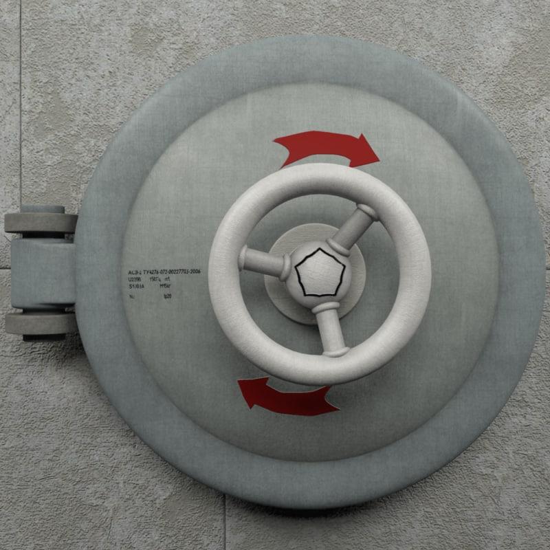 3D hatch concrete wall