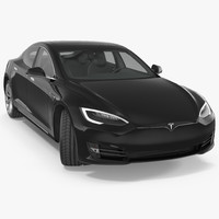 tesla s p100d 2017 3D model