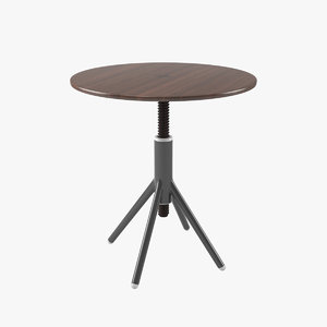 3D thread bistro table