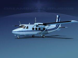 3D model aircraft harbin y-12 ii