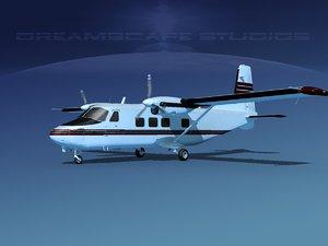 aircraft harbin y-12 ii 3D model