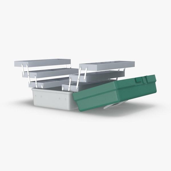 tackle-box---open 3D model