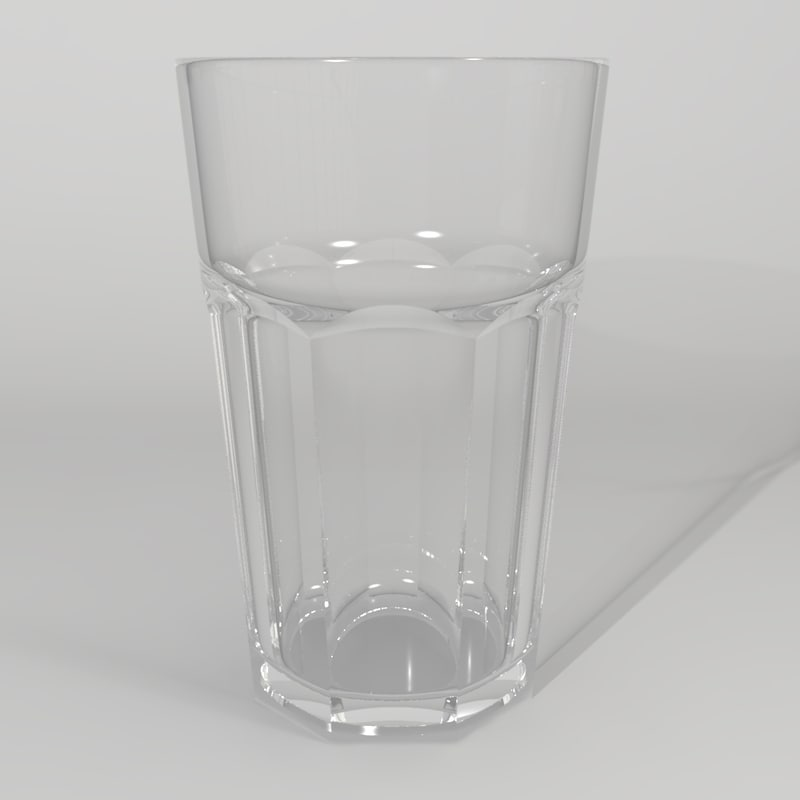 glass cup model