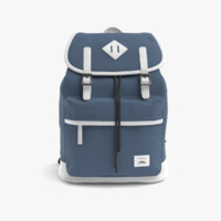 3D casual cotton backpack model