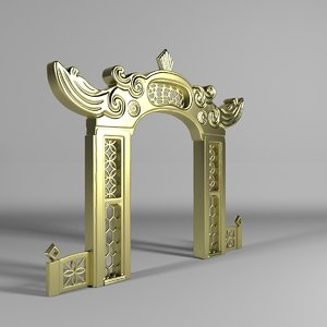 arch chinese 3D model