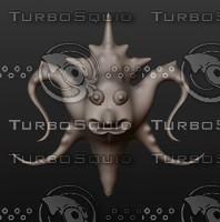 3D model animal alien